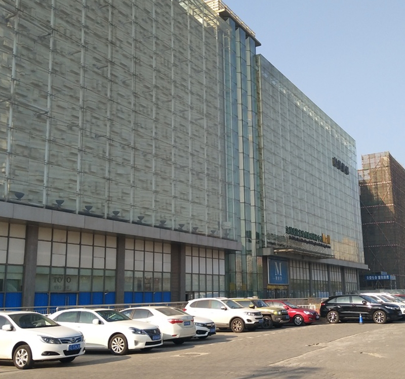 北京朝阳区红星美凯龙世博建材设计中心屋面保温